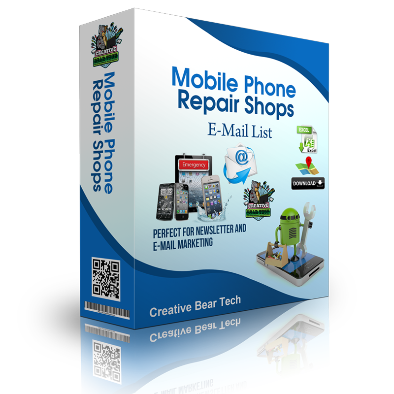 Mobile Phones Repair Shops Email List
