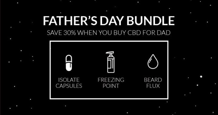 GIVE DAD THE GIFT OF CBD THIS FATHER'S DAY!